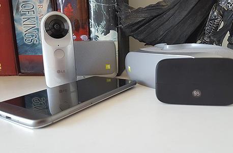LG 5G סמארטפון מודולרי 1, צילום: הראל עילם