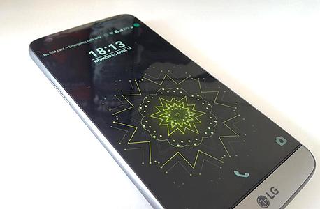LG 5G סמארטפון מודולרי 4, צילום: הראל עילם