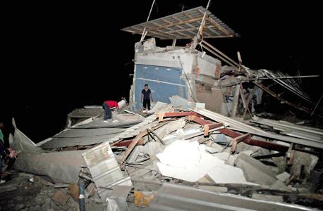 רעידת אדמה אקוודור 1, צילום: איי אף פי