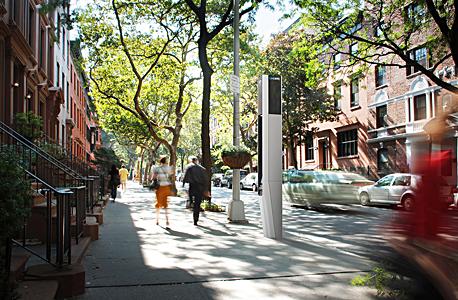 תשתית תקשורת אלחוטית בניו יורק