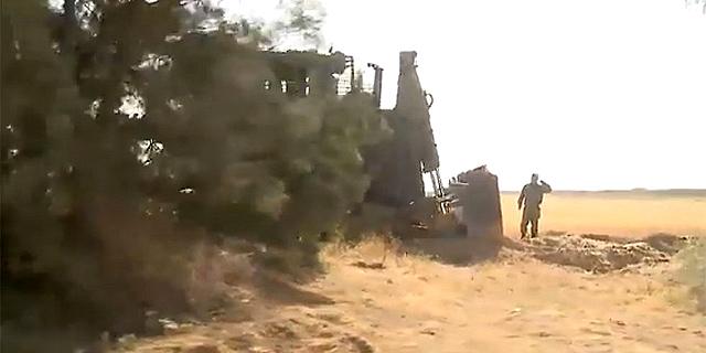 """כוחות צה""""ל במרחב מציאת המנהרה במועצה האיזורית אשכול, צילום: רועי עידן, בראל אפרים"""
