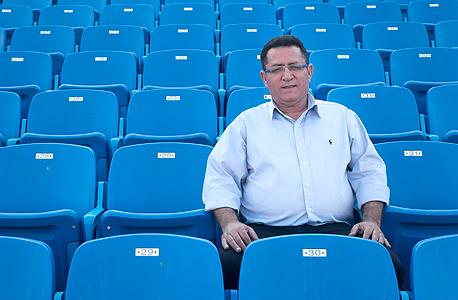 """עופר עיני יו""""ר התאחדות הכדורגל בישראל, צילום: אורן מועלם"""