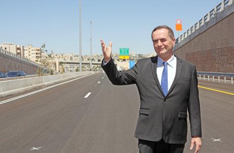 שר התחבורה ישראל כץ, צילום: דוברות משרד התחבורה