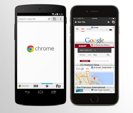 כרום סמארטפון דפדפן גוגל chrome, צילום: google