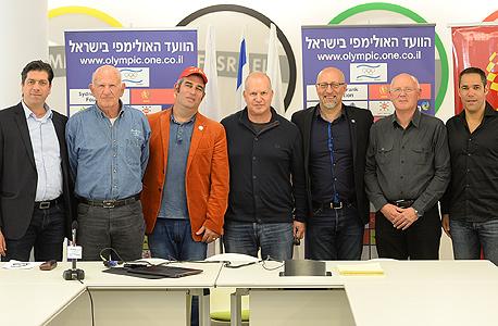חברי הוועד האולימפי בישראל ואנשי Hype