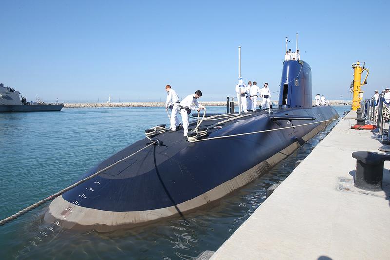 """צוללת אח""""י רהב. אחת מחמשת הצוללות הישראליות אשר מציבות את ישראל בדירוג"""