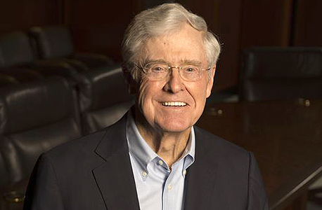 Charles Koch. Photo: Robert Deutsch