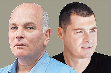 מימין: זוהר לוי ואהרון פוגל