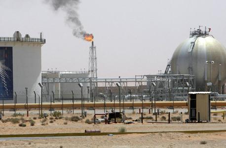 מתקן נפט בסעודיה