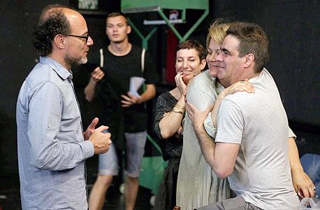 פנאי איב קוגלמן הצגה אנה פרנק הקאמרי, צילום: שאול גולן
