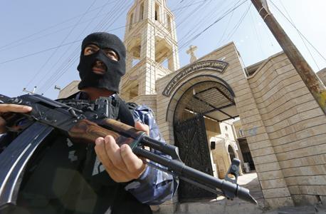 כנסייה במוסול שדאעש הסבה לבית כלא