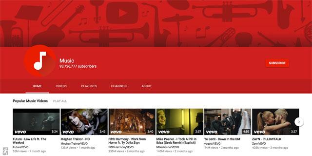 גוגל מעצבת מחדש את יוטיוב בצלמה ובדמותה