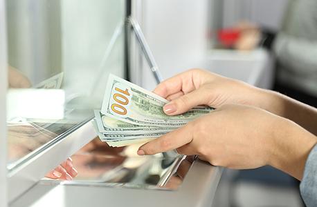 משיכה בנקאית ידנית
