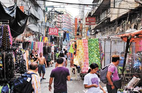 מניילה, בירת הפיליפינים. תיפגע במיוחד