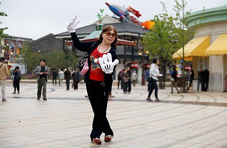 שנגחאי פארק השעשועים הראשון של וולט דיסני סין 2, צילום: רויטרס