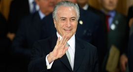 מישל טמר נשיא ברזיל , צילום: אימג'בנק,  Gettyimages
