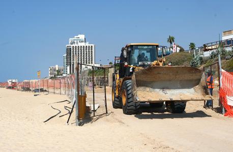 בנייה בחוף הרצליה