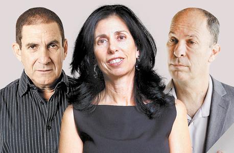 מימין אורי יוגב דורית סלינגר ו יפתח רון טל, צילומים: אוראל כהן וטל שחר