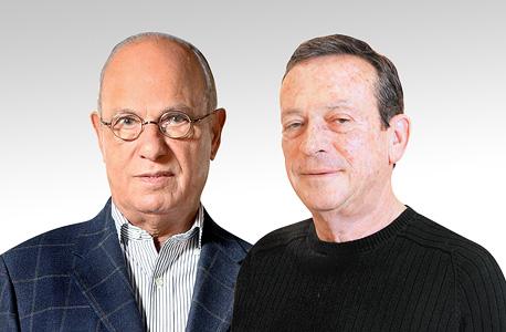 מימין יהודה זיסאפל ו שלמה אליה, צילום: עמית מגל, גלעד קוולרציק