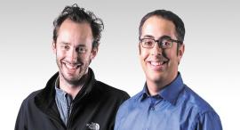 מימין ליאור רון ו אנתוני לבנדובסקי מייסדי חברת OTTO, צילום: Otto