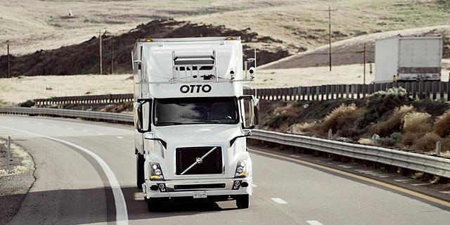 משאית ללא נהג של חברת otto, צילום: Otto