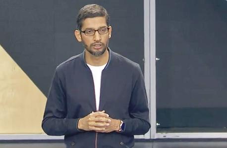 "סונדאר פיצ'אי. מנכ""ל גוגל בכנס השנתי"