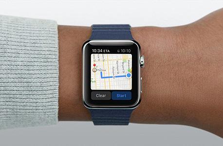 אפל ווטש מפות, צילום: macworld.co.uk
