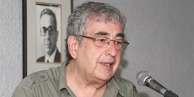 הסופר חיים באר. מתנגד לתוכנית הבנייה, צילום: דוד הכהן