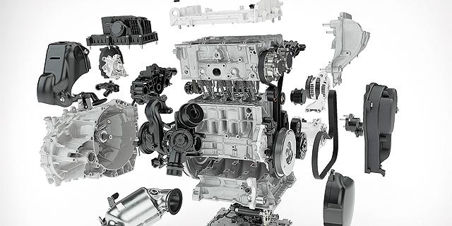 מנוע חדש של וולוו, 3 צילינדרים וטורבו. שינויים פורצי דרך בטכנולוגיות ההנעה, צילום: וולבו