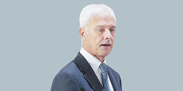 """מנכ""""ל פולקסווגן מתיאס מולר, צילום: בלומברג"""
