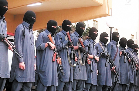 ISIS fighters. Photo: ISIS video