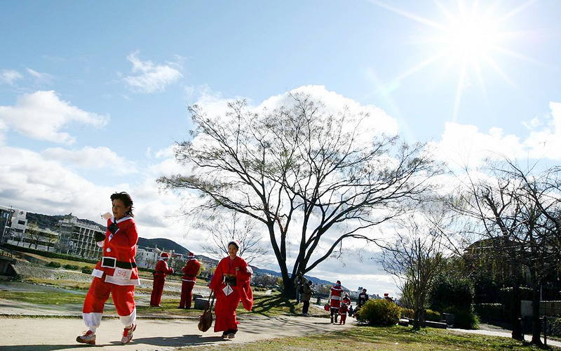 """מרתון קיוטו. לרוץ בין מקדשים ואתרי מורשת של אונסק""""ו"""