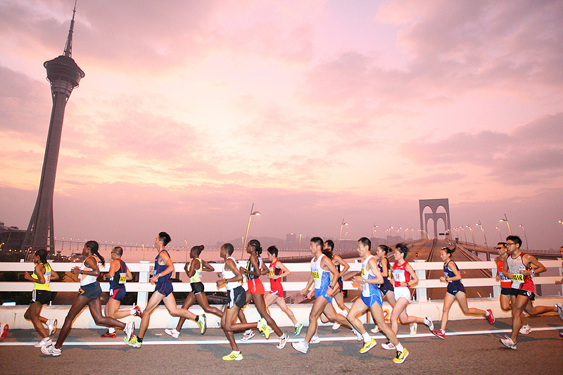 מרתון מקאו. דרך טובה להכנס למדינה ללא ויזה, צילום: sport.gov.mo