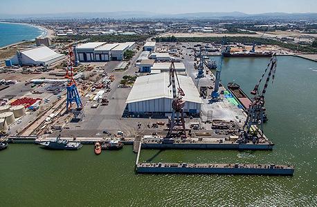 נמל מספנות ישראל בחיפה