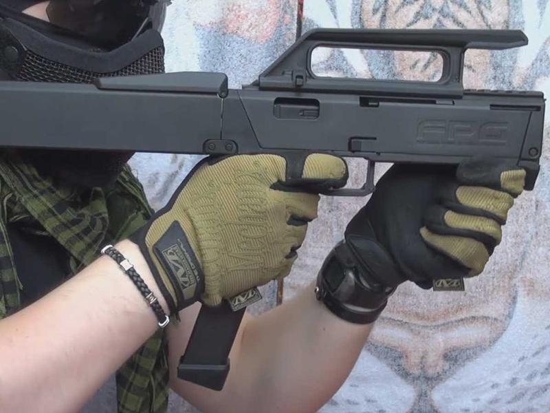 רובה Magpul FMG-9, צילום: YouTube