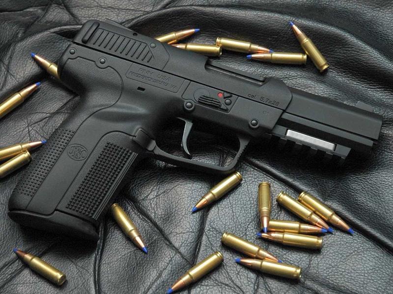 אקדח FN פייב, צילום: YouTube