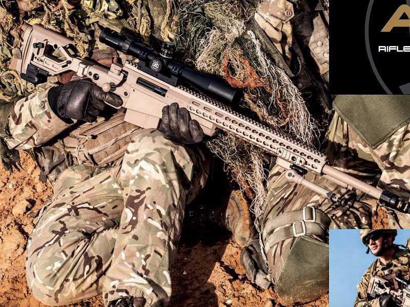 רובה של אקיורסי אינטרנשיונל (Accuracy International), צילום: YouTube