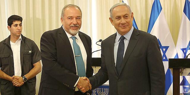 נתניהו וליברמן חתמו על ההסכם הקואליציוני