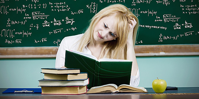 סטודנטית, צילום: שאטרסטוק