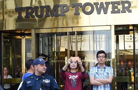 טראמפ טאואר ניו יורק תיירים סלפי, צילום: אימג'בנק, Gettyimages