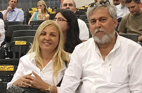 נחום ביתן עם אשתו אסיפת הנושים, צילום: נורית קדוש