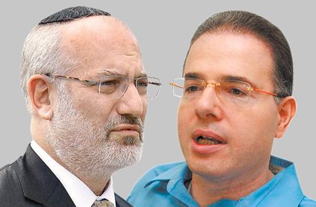 מימין דני נווה ו אדוארדו אלשטיין, צילומים: אוראל כהן