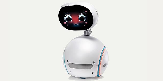 אסוס חושפת סמארטפונים ומחשבים חדשים, אבל הרובוט הביתי גונב את ההצגה