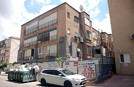 הבניין ברחוב גרשום 4 ברמת גן, צילום: עמית שעל