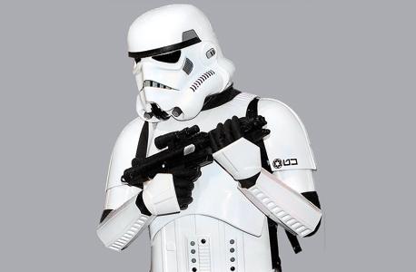 דמות דיסני חייל סער ממלחמת הכוכבים, צילום: אי פי איי