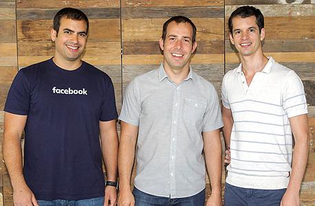 פייסבוק מימין ישראל רואי טיגר חביאר אוליבאן ו ג'ואי שמחון , צילום: שוקה כהן