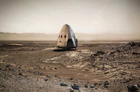 המטרה: יישוב מאדים, צילום: spacex