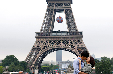 מגדל אייפל, פריז, צילום: אי פי איי