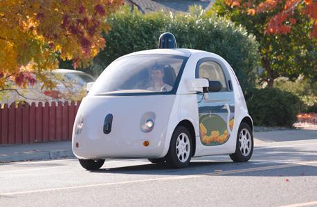 ה מכונית ללא נהג של גוגל google car