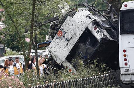 הפיגוע באיסטנבול, צילום: אי פי איי